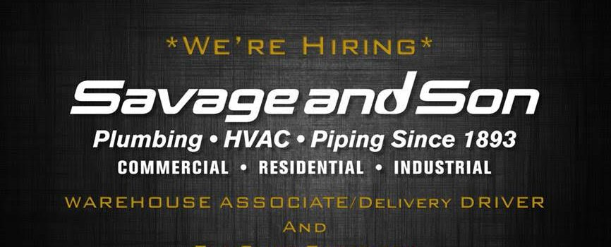 We're Hiring! Warehouse Associate/Delivery Driver